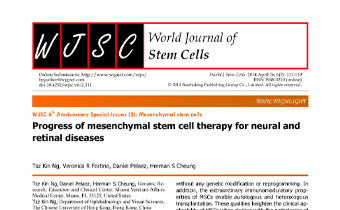 Progress of mesenchymal stem cell therapy for neural and retinal diseases Innate Healthcare